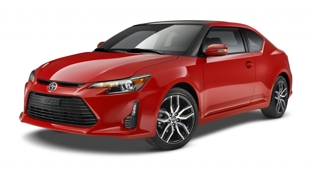 The next-generation Scion tC has arrived for 2014. The wide air intake and low-slung stance hint at its newfound sportiness from the driver's seat.