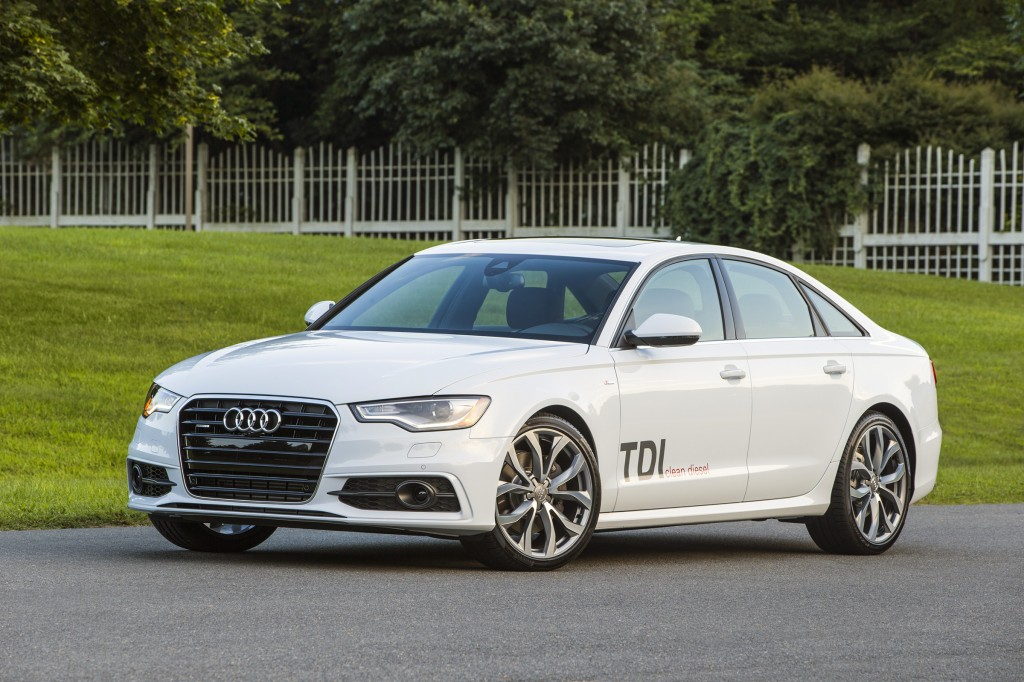 The Audi A6 TDI comes with a powerful diesel engine and is rated for 38 mpg on the highway. It's the perfect example of how diesel technology is being matured, quieted and cleaned up for the modern age.