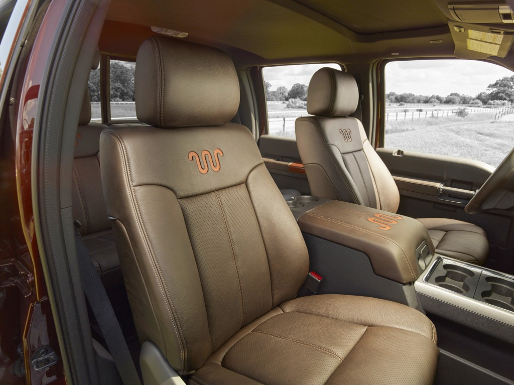 The Super Duty lineup gets a revised King Ranch edition, priced from $50,800, that includes new Western-themed styling and richer leather for the interior.