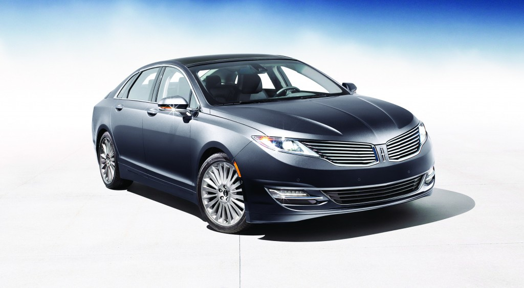 The Lincoln MKZ evokes classic Hollywood glamour with its highly styled body. Its pricing starts slightly over $34,000.