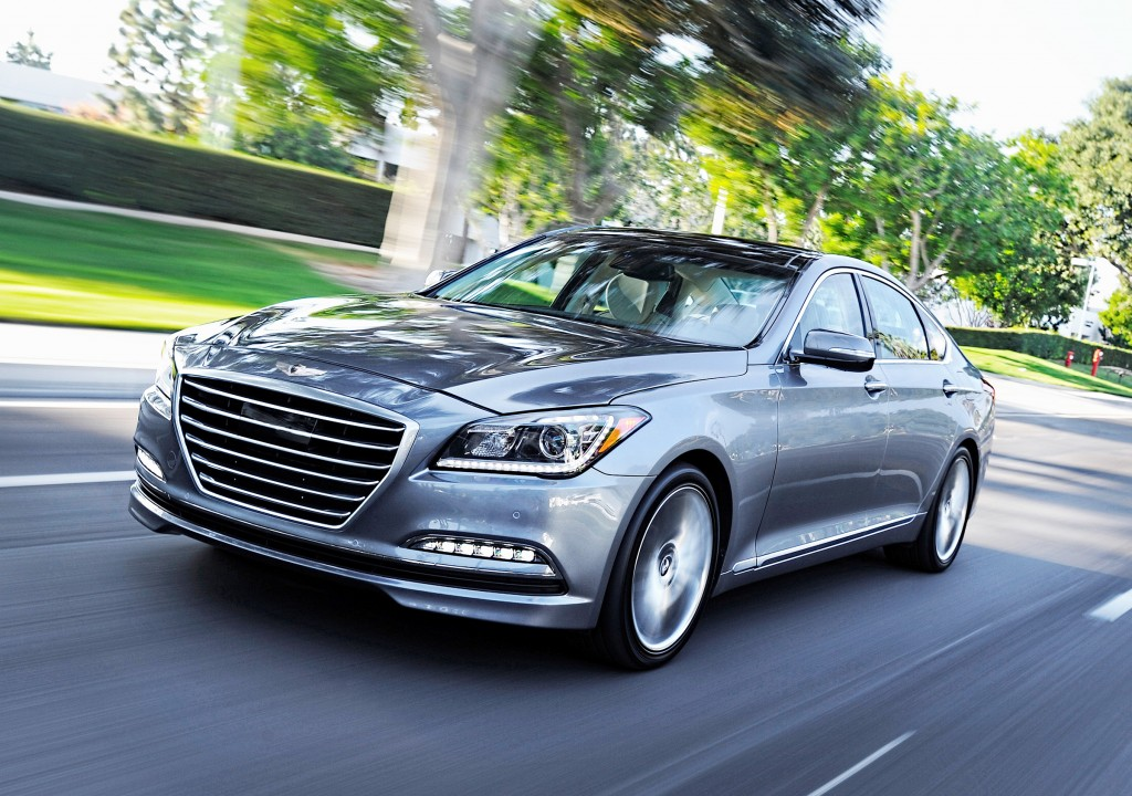 With an all-new generation out for 2015, the Hyundai Genesis has gone from being a luxury bargain to a luxury leader. It's still value priced starting at $38,000.