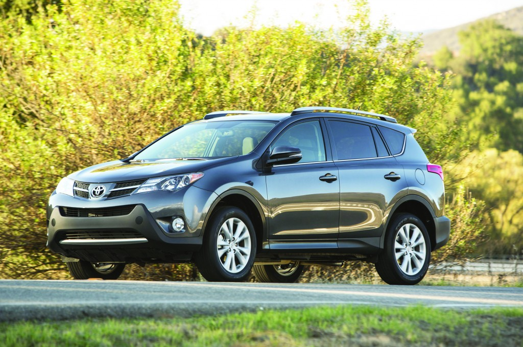 After a complete redesign for the 2013 model year, Toyota's RAV4 crossover gets a new Entune digital system and a new technology package on Limited models for 2014.