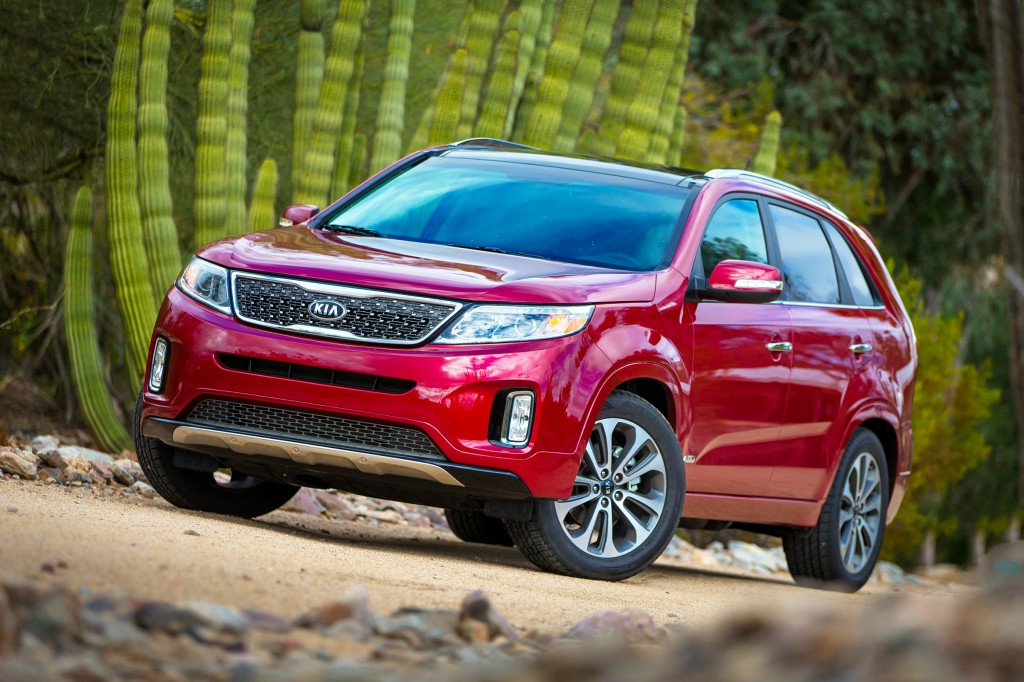 Starting at $24,300, the Kia Sorento has all the strengths that make crossovers so popular: space, comfort and refinement along with decent fuel economy.