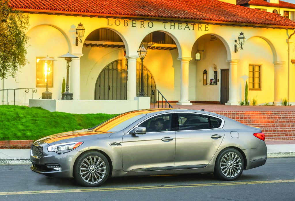 The Kia K900 is a full-size luxury car designed to compete with the biggest, brightest names of the car world, including the Mercedes-Benz S-Class and Lexus LS.