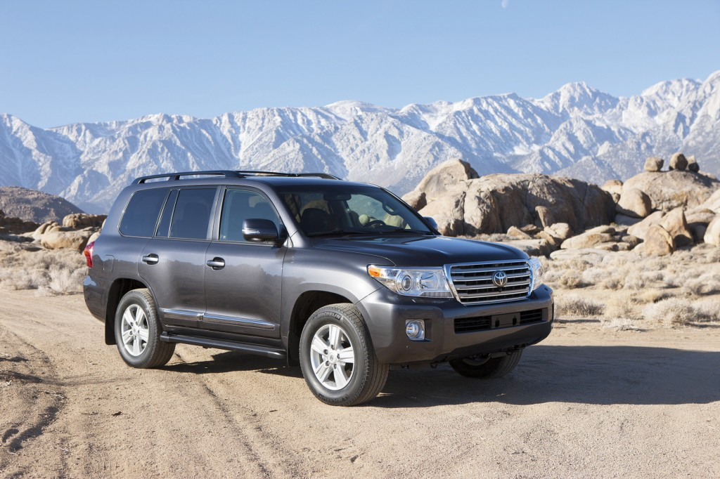 Toyota's giant Land Cruiser SUV has legendary off-road capability to go with its smooth, sophisticated on-road refinement.