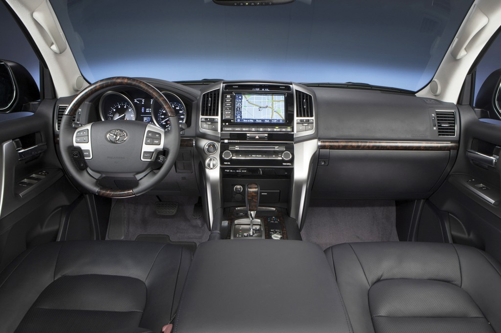 With a starting price near $80,000, standard equipment on the Land Cruiser includes heated and cooled seats, a rear-seat DVD player, navigation system and a built-in cooler in the center console.