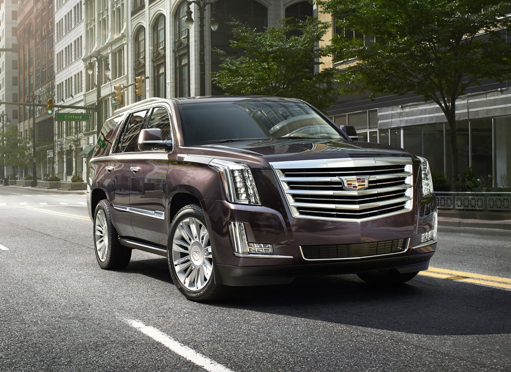 The new Escalade's body looks contemporary without losing its distinctive shape and road presence. Pricing starts at $67,970.