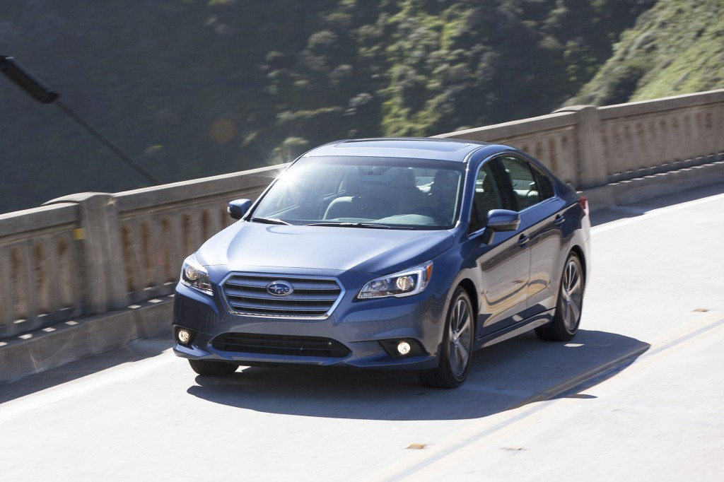 Subaru focused on making the new Legacy bigger while also keeping its weight to a minimum. Its highway fuel economy is now 36 mpg, which is impressive for an all-wheel-drive vehicle.