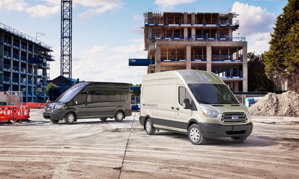 The Ford Transit is a full-size delivery van that can be outfitted to meet a wide range of business needs. It's a very flexible platform, available with three lengths, two wheelbases, three roof heights and three different engines.