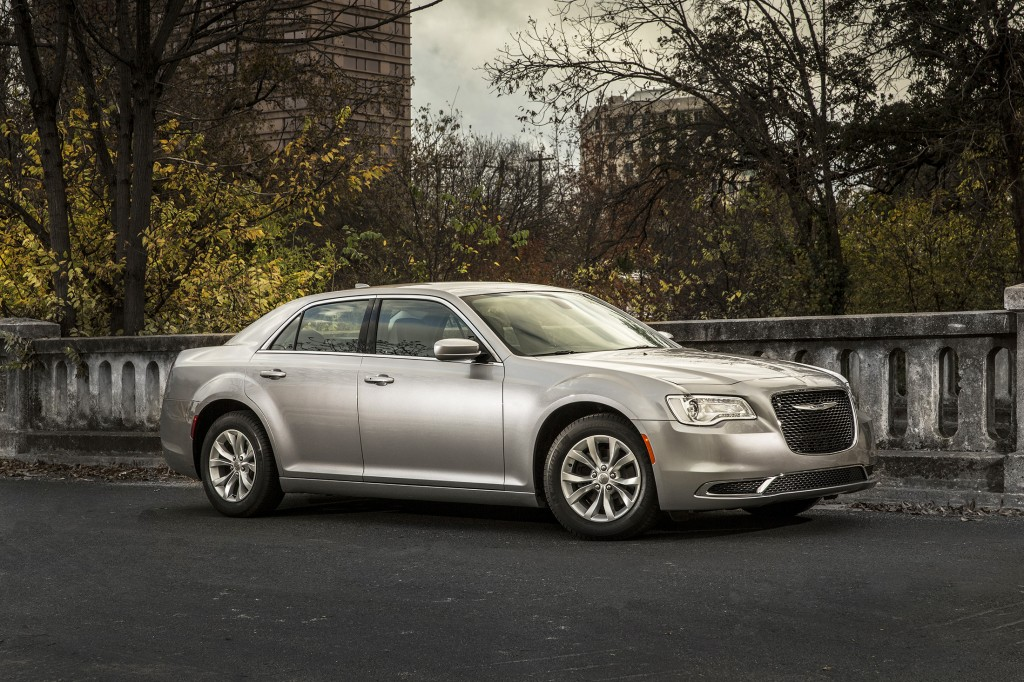 The new Chrysler 300 gets a more aggressive grille and streamlined corners up front, but it keeps its all-American, upright proportions that make it instantly recognizable.