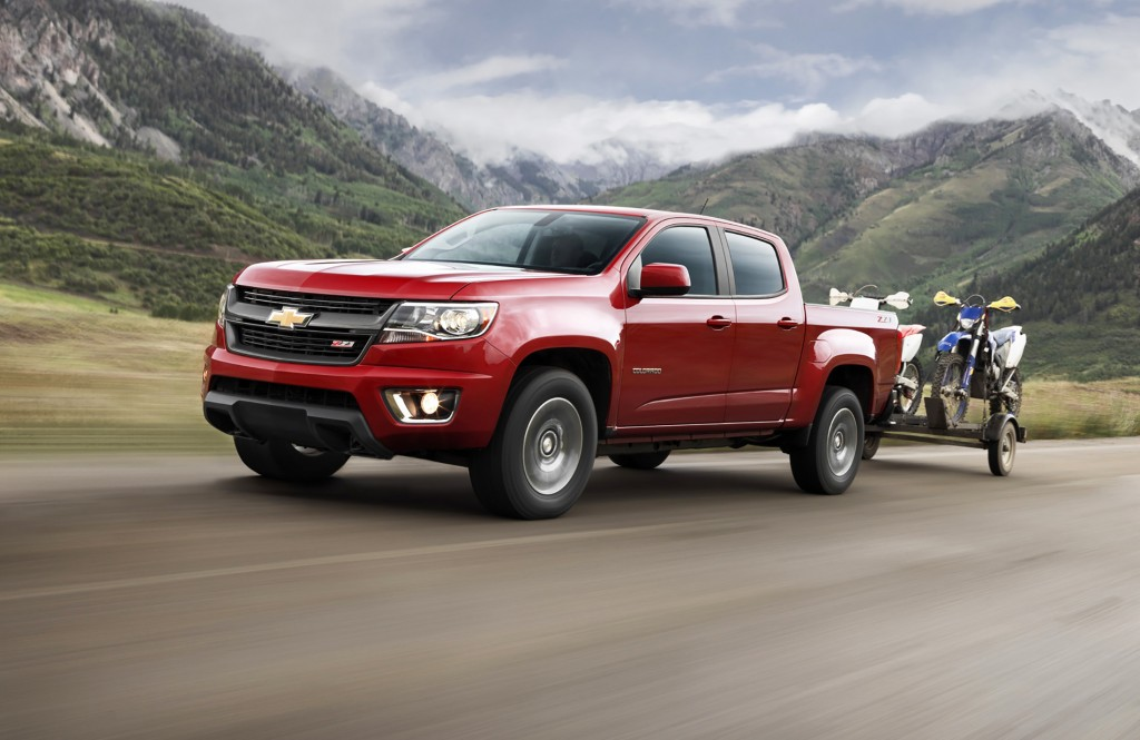 "The 2015 Chevrolet Colorado is the first all-new midsize truck to hit the market in many years. It's dramatically raising the bar in this segment and winning awards like Motor Trend's ""Truck of the Year"" in the process."