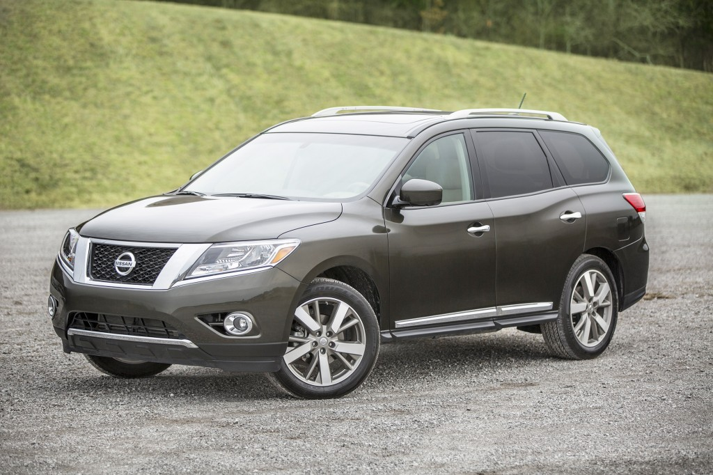 Unlike the style-oriented Nissan Murano, the Pathfinder takes a more traditional approach to design. This three-row crossover is a great fit for family road trips.