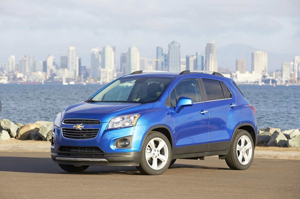 The Chevrolet Trax has the styling swagger of a big, SUV-like crossover, but it's actually dramatically smaller than most.
