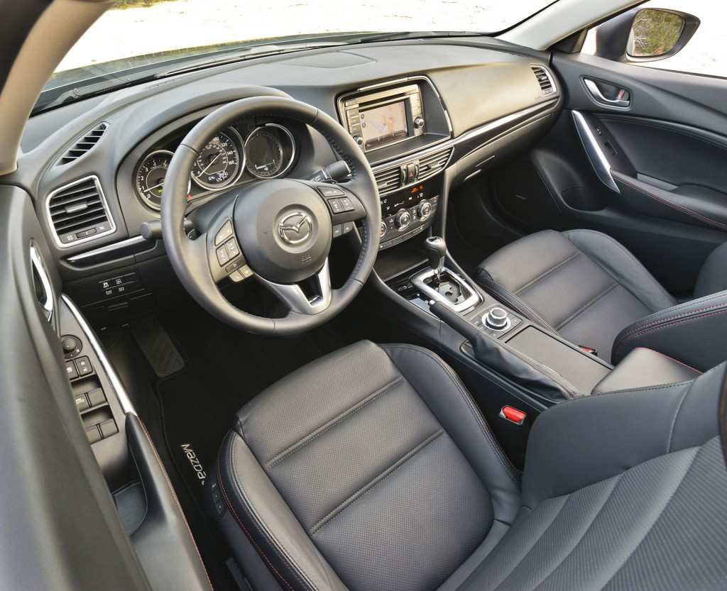The Mazda6's interior is among the best in its highly competitive class. It does a good job integrating technology in a way that is intuitive and simple for drivers to use.