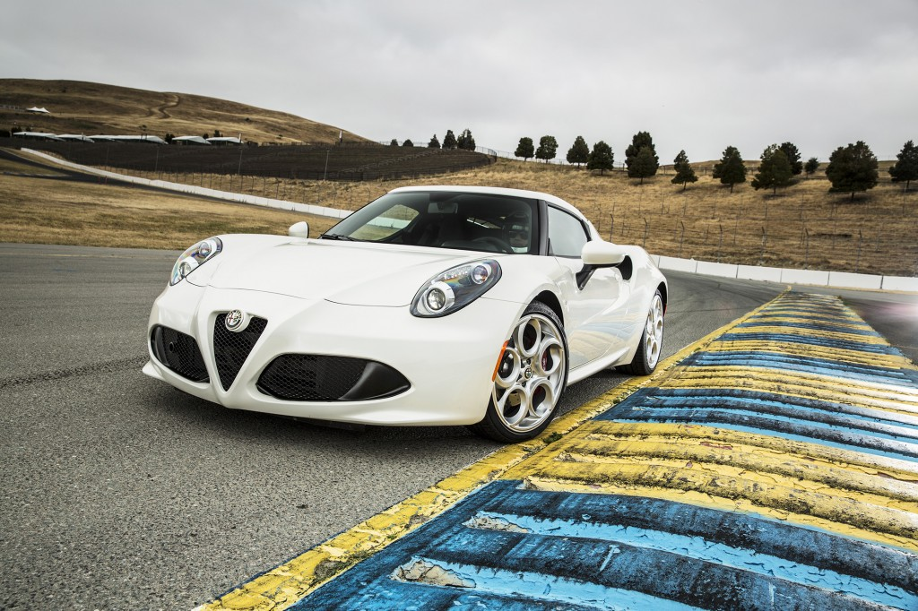The exotic 4C is Alfa Romeo's first car to sell as it re-enters the U.S. market this year. It's made from carbon fiber, has wild Italian styling and is designed for purists who want supercar thrills at an attainable price.