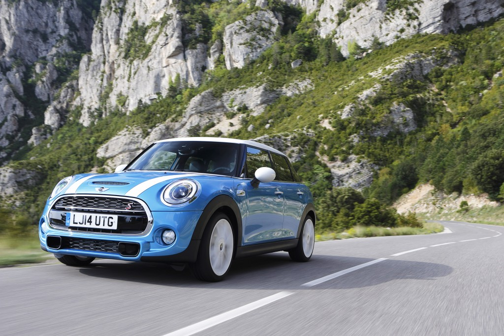 A freshly designed four-door version of the Mini Cooper is based on BMW's new small-car architecture. It offers more space and practicality than the two-door Mini.