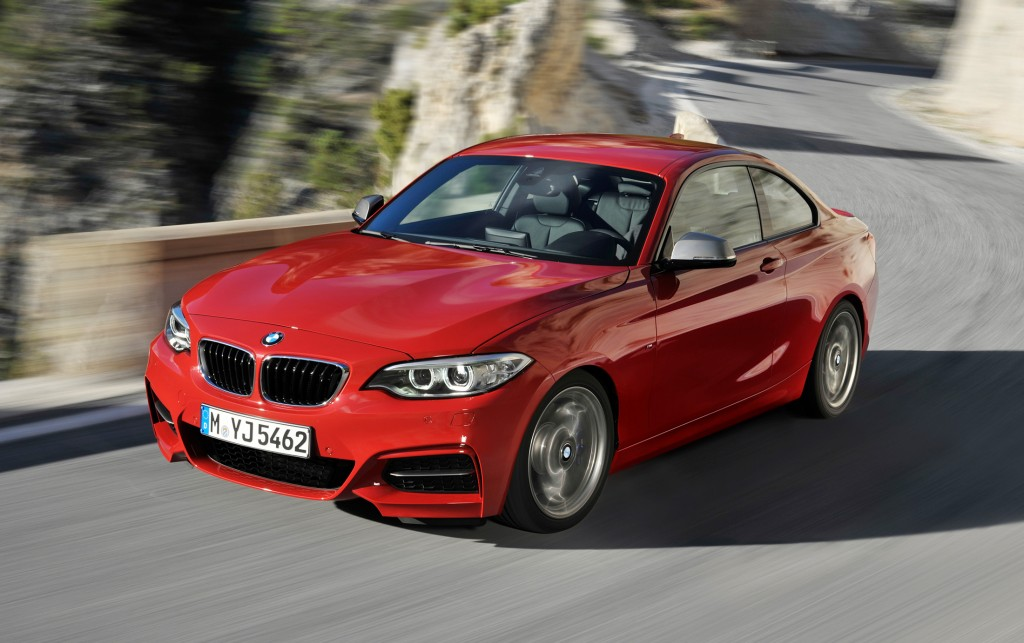 The BMW 2-Series is a modern take on the classic, timeless sports coupe. It offers impressive balance and grip, particularly with the new Track Handling Package, along with BMW's signature styling.