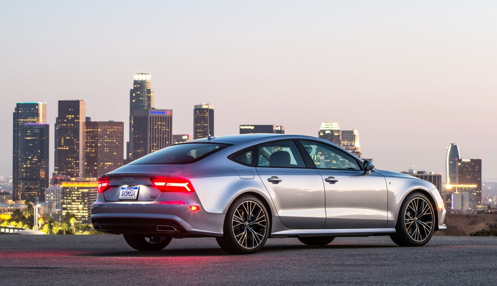 The Audi A7 is one of the most stylish four-door cars on the road today, with a back end that looks more like a two-door coupe.