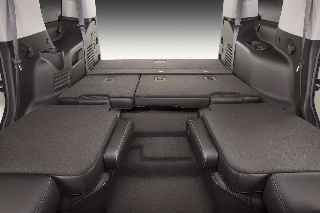 Power fold-flat seats are one option for making the most of the Tahoe's available cargo space.
