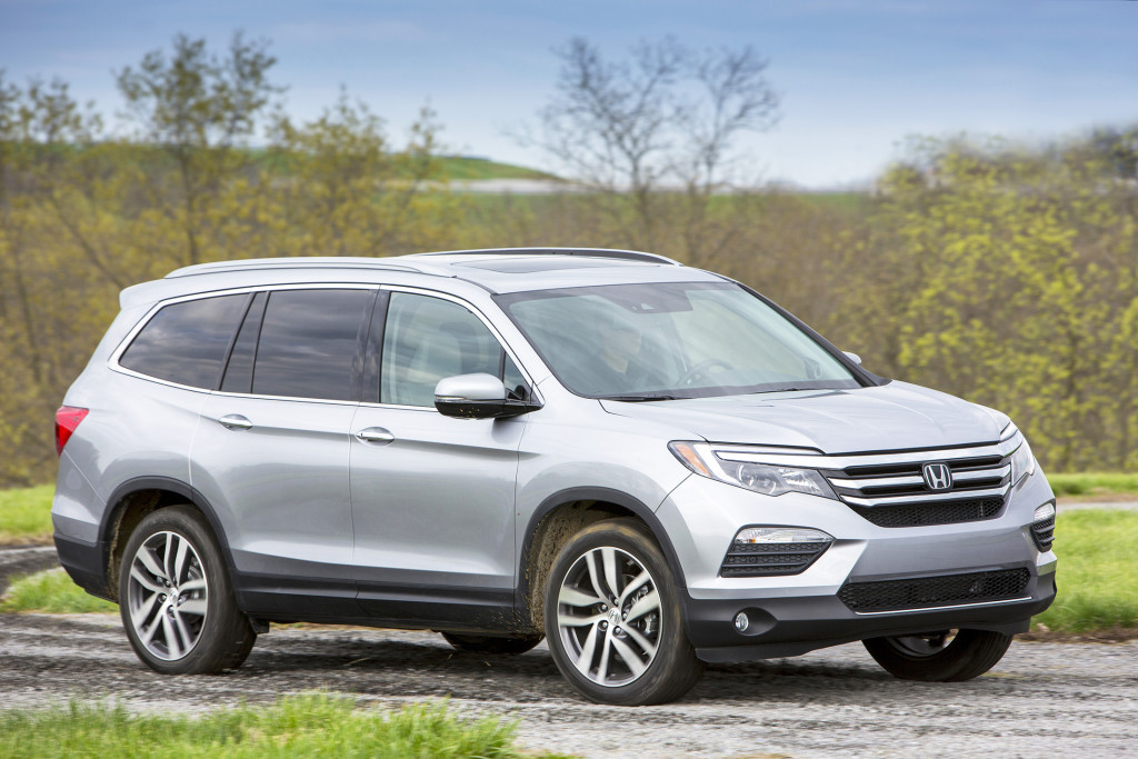 The Honda Pilot gets an all-new design for 2016 that is a dramatic improvement over its predecessor. A better cabin, quieter ride and lots of family-friendly features are sure to make it a popular choice.