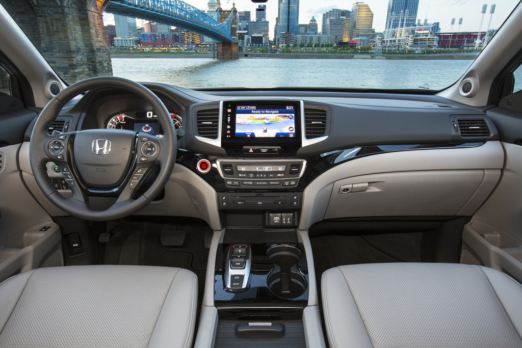 Perhaps more than anywhere else, the Pilot's makeover is made obvious in its cabin. Soft-touch materials, Honda's typically tight construction and great use of technology make for an impressive upgrade over the outgoing model.