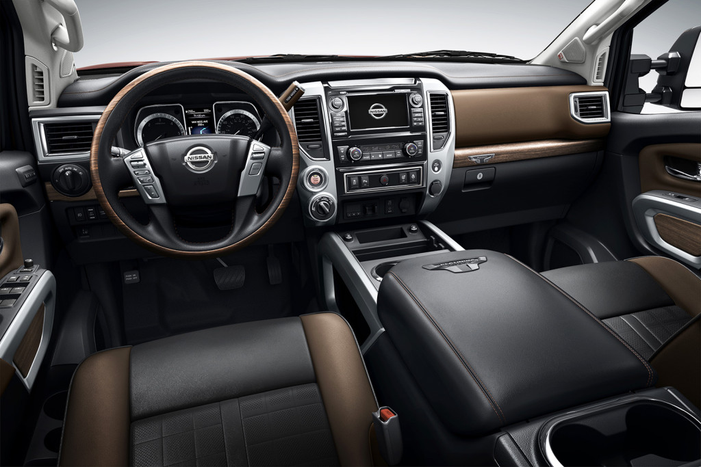 The Platinum Reserve trim level, shown here, is Nissan's new entry in the fast-growing luxury truck segment.