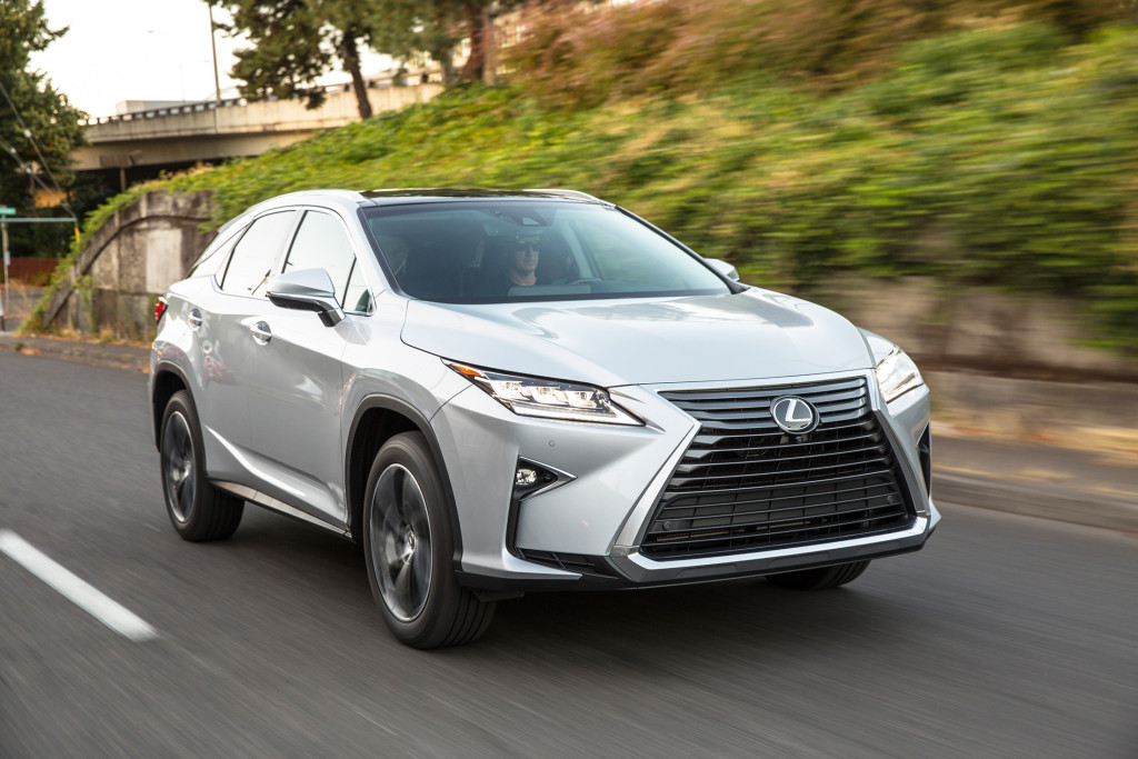 """The all-new Lexus RX is raising eyebrows for its bold new look, particularly the gigantic """"spindle grille"""" on the front end. It's a dramatic change for this vehicle that previously had been one of the most conservative luxury crossovers."""