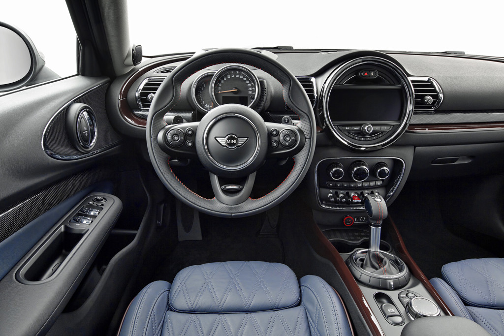 The Clubman's interior is one of the most unique on the market today, fitting for a style-conscious car that prides itself on being quirky.