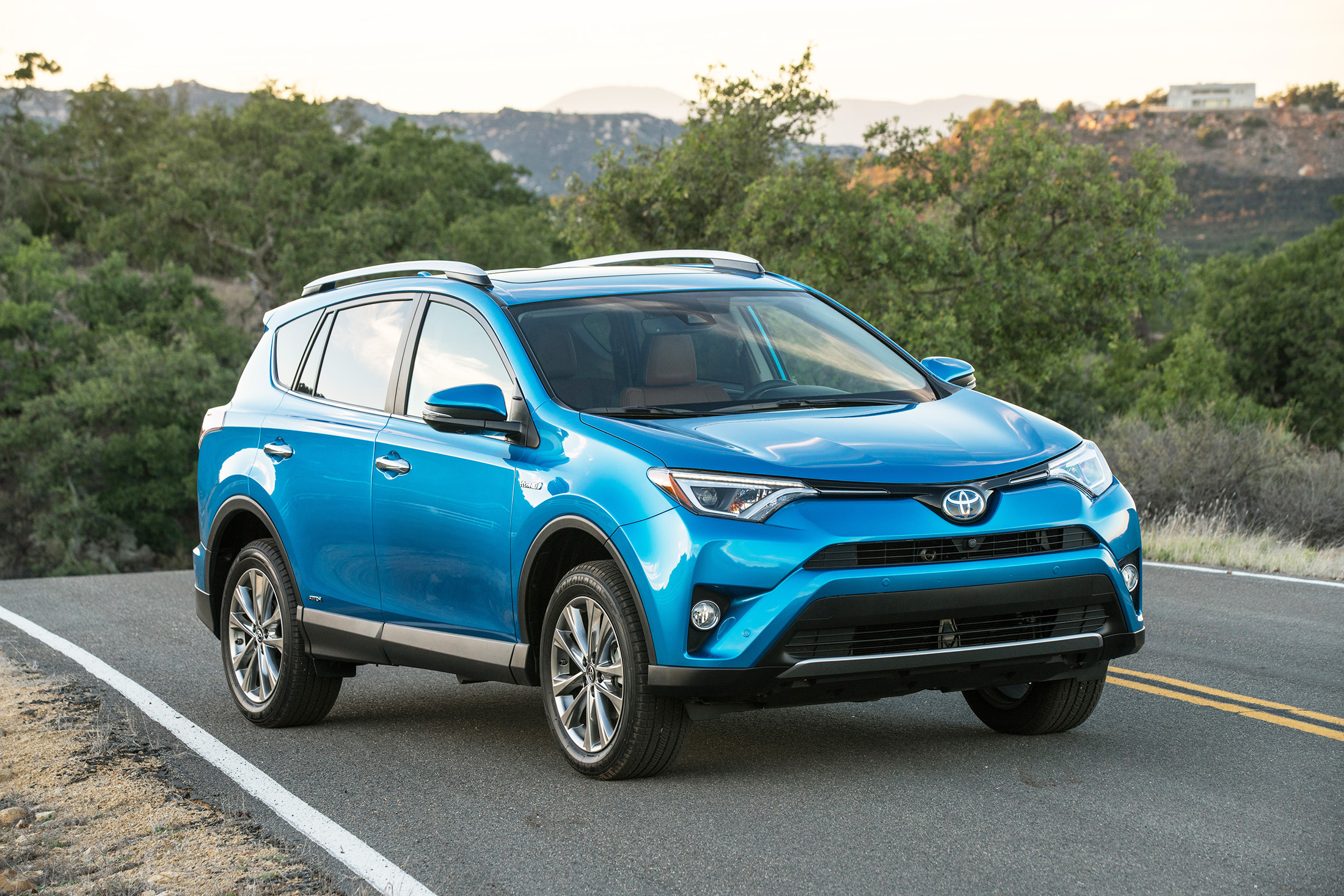 Toyota is rolling out a gas-electric hybrid version of its RAV4 for 2016. It offers a dramatic improvement in gas mileage for around-town driving.