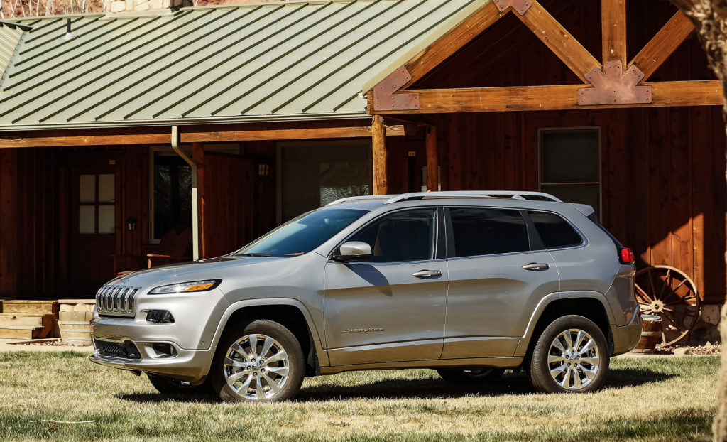 The Jeep Cherokee has added a new, more luxurious Overland trim level with a higher grade of materials and quieter ride, mainly thanks to acoustic glass in the windshield and front doors.