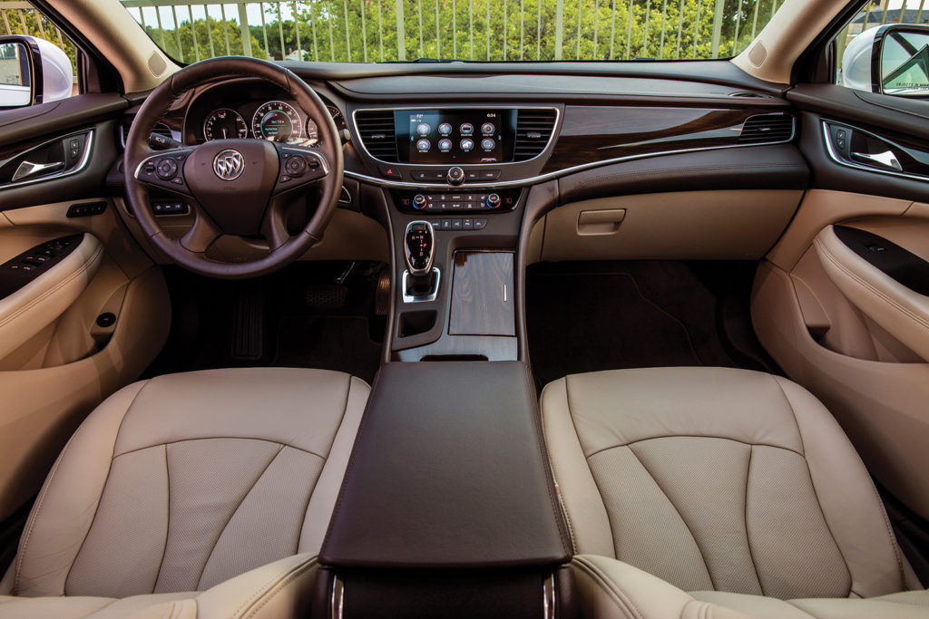 The all-new LaCrosse has a well-built cabin that competes well against the Japanese and German brands that have long set the standard for luxury interiors.