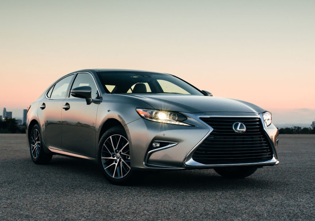 The Lexus ES 350 was redesigned last year with a big, bold grille that makes it look like an aggressive sports sedan. In reality, it's a quiet luxury car with one of the smoothest rides you can buy today.