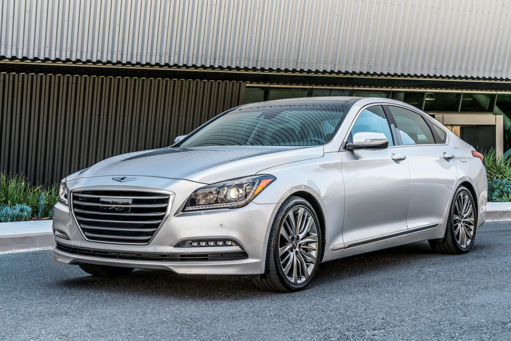 The G80 is the smaller of two cars Genesis is selling in its inaugural year as a standalone brand. It's designed to compete with mid-size luxury cars including the Mercedes-Benz E-Class, BMW 5-Series, Lexus GS and Cadillac CTS.